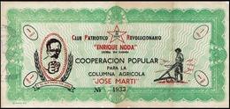 BONO DE COOPERACIÓN POPULAR. REVOLUCIÓN CUBANA - Cuba