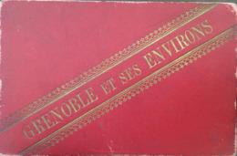 """Carnet Dépliant De 24 Vues De """" Grenoble Et Ses Environs"""" , 38, Isère, Format Carnet 14,5 X 9,5 - Tourism Brochures"""