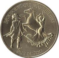2020MDP198 - LES EPESSES - Puy Du Fou 21 (mousquetaire De Richelieu 3) / MONNAIE DE PARIS - Monnaie De Paris