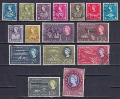 KENYA UGANDA TANGANYIKA 1960, SG# 183-198, CV £40, Animals, Birds, Flowers, Used - Kenya, Uganda & Tanganyika