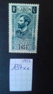 GABON 137** - Unused Stamps