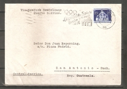 1936 German Reich .Olympic Games. Envelope (Used) - Germany
