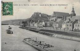08, Ardenne, GIVET, Quai De La Meuse Et Charlemont, Scan Recto Verso - Givet