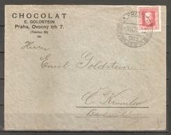 1925. Czechoslovakia. International Olympic Congress. Envelope - Olympic Games