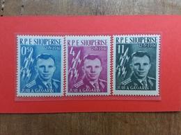 ALBANIA 1962 - 1° Uomo Nello Spazio - Nn. 642/44 Nuovi ** + Spese Postali - Albanië