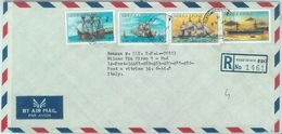 84441 - SIERRA LEONE - Postal History - Registered COVER 1985 - BOATS Ships - Sierra Leone (1961-...)