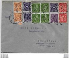 40-39 - Enveloppe Envoyée De Stuttgart 1923 - Allemagne