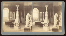 Stereoview - Classical Sculpture , Oxford Museum England C.1890s - Stereoscopi