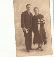 FOTOKAART  Huwelijk Mariage   Foto D' Haese Aalst - Belgique