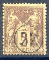 France N°85 - Oblitération Jour De L'an - (F031) - 1877-1920: Période Semi Moderne