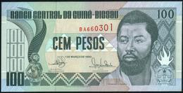 GUINEA BISSAU - 100 Pesos 01.03.1990 {Banco Central Da Guiné-Bissau} UNC P.11 - Guinea-Bissau