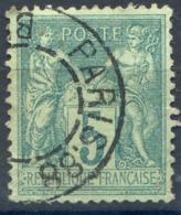 France - N°75 Oblitérés Jour De L'an (TAD Sans Bloc Dateur) - (F043) - 1877-1920: Période Semi Moderne