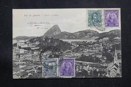 BRÉSIL - Affranchissement Plaisant De Rio De Janeiro Sur Carte Postale Pour La France En 1911 - L 60879 - Briefe U. Dokumente