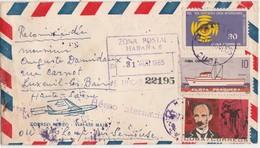 Lettre Recommandée / Par Avion / 1965 / La Habana / La Havane / Cuba - Cuba