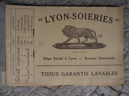 LYON SOIERIES CATALOGUE ECHANTILLONS TISSUS 23 MODELES - Livres, BD, Revues