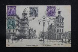 BRÉSIL - Affranchissement Plaisant De Rio De Janeiro Sur Carte Postale Pour La France En 1911 - L 60886 - Briefe U. Dokumente