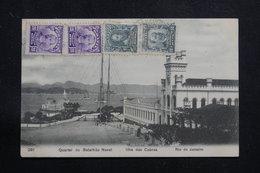 BRÉSIL - Affranchissement Plaisant De Rio De Janeiro Sur Carte Postale Pour La France  - L 60887 - Briefe U. Dokumente