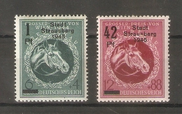 1945 Germany. Strausberg. Private Overprint / Signed * - Deutschland