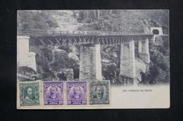 BRÉSIL - Affranchissement Plaisant De Santos Sur Carte Postale Pour La France En 1907  - L 60888 - Briefe U. Dokumente