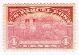 DO 15767 USA PARCEL POST NR 4 MET SCHARNIER ZIE SCAN - Parcel Post & Special Handling