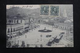 BRÉSIL - Affranchissement Plaisant De Rio De Janeiro Sur Carte Postale Pour La France En 1908  - L 60889 - Briefe U. Dokumente