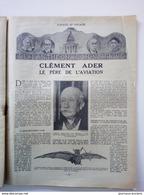 1925 CLEMENT ADER LE PÈRE DE L'AVIATION - TAILLERIE DE DIAMNTS - ILE WRANGEL - SYRIE AU PAYS DES DRUSES - Books, Magazines, Comics