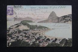 BRÉSIL - Affranchissement Plaisant De Rio De Janeiro Sur Carte Postale Pour La France En 1908  - L 60892 - Briefe U. Dokumente