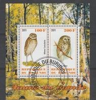 1.BURUNDI 2011 - Owls