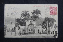 BRÉSIL - Affranchissement Plaisant De Rio De Janeiro Sur Carte Postale Pour La France En 1908  - L 60894 - Briefe U. Dokumente