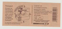 FRANCE - CARNET N° 592 C3 - NEUF** NON PLIE - Marianne De BEAUJARD - - Carnets