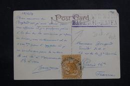 IRAQ - Affranchissement Plaisant Sur Carte Postale En 1929 Pour La France  - L 60898 - Iraq