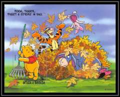 80150 Antigua & Barbuda Winnie The Pooh Winnie L'ourson Tigrou Disney Bloc (BF) Neuf ** MNH - Disney