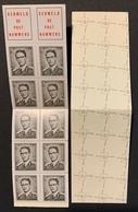 Boekje / Carnet N° 4 B4 ** 1970 Z.M. Koning Boudewijn 1561 1561F 1561a - Booklets 1953-....