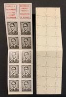 Boekje / Carnet N° 5 B5 ** 1970 Z.M. Koning Boudewijn 1561 1561F 1561a - Booklets 1953-....