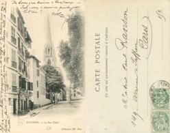 D - [509803]B/TB//-France  - (64) Pyrénées-Atlantiques, Bayonne, La Rue Thiers, Eglises Et Cathédrale - Bayonne