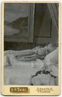 Post-Mortem D'un Enfant.  Tirage Original D'époque. C 1900  FG1180 - Anonyme Personen