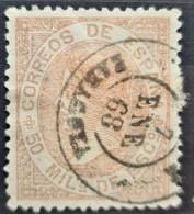 SPAIN 1867/68 - Canceled - Sc# 97 - 50m - Gebraucht