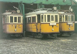 TRAM * TRAMWAY * RAIL * RAILWAY * RAILROAD * BKV * FERENCVAROS REMISE * END STATION * BUDAPEST * Top Card 0230 * Hungary - Tramways