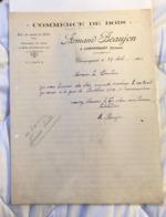 Commerce De Bois -Armand & Beaujon - Champagnat 1932 - 1900 – 1949