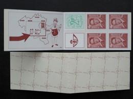 Boekje / Carnet N° 9 B9 ** 1972 Z.M. Koning Boudewijn 1657 1659 - Booklets 1953-....