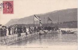 AIX-les-BAINS - Joutes Nautiques Au Grand Port - Très Animé - Aix Les Bains