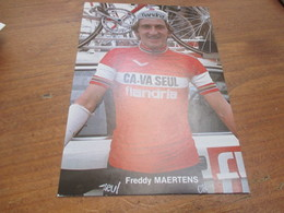 Wielrenner, Freddy Maertens - Cycling