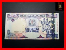 TANZANIA 10.000 10000 Shilingi 1997 P. 33  VF++ - Tanzanie
