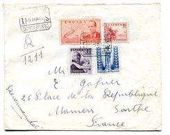 Lettre Recommandée De BARCELONA (Barcelone) 1960. Vente Immédiate à Prix Fixe - 1951-60 Covers