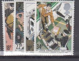 GRADE BRETAGNE     1987     N °      1270 / 1273      COTE    6 € 00       ( Q 414 ) - 1952-.... (Elizabeth II)