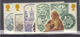 GRADE BRETAGNE     1987     N °      1279 / 1282      COTE    6 € 00       ( Q 415 ) - 1952-.... (Elizabeth II)