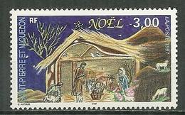 SAINT PIERRE ET MIQUELON MNH ** 662 Noël La Crèche - Neufs