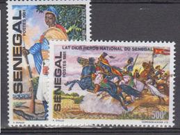 SENEGAL     1982     N °      560 / 561      COTE    5 € 75       ( Q 418 ) - Senegal (1960-...)