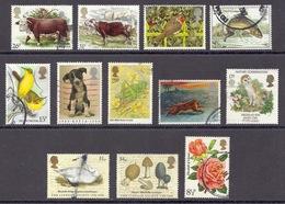 Great Britain - (Lot), Different Used - 1952-.... (Elizabeth II)