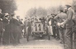 **  Sport Auto *** La Coupe Gordon Bennett -  Départ De STORERO Sur F I A T  Neuve Excellent état - Rallyes